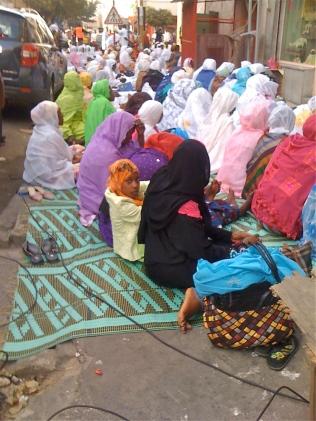 vue à la mosquée